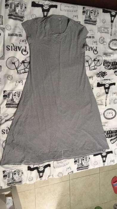 Vestido Materno T/L Franela