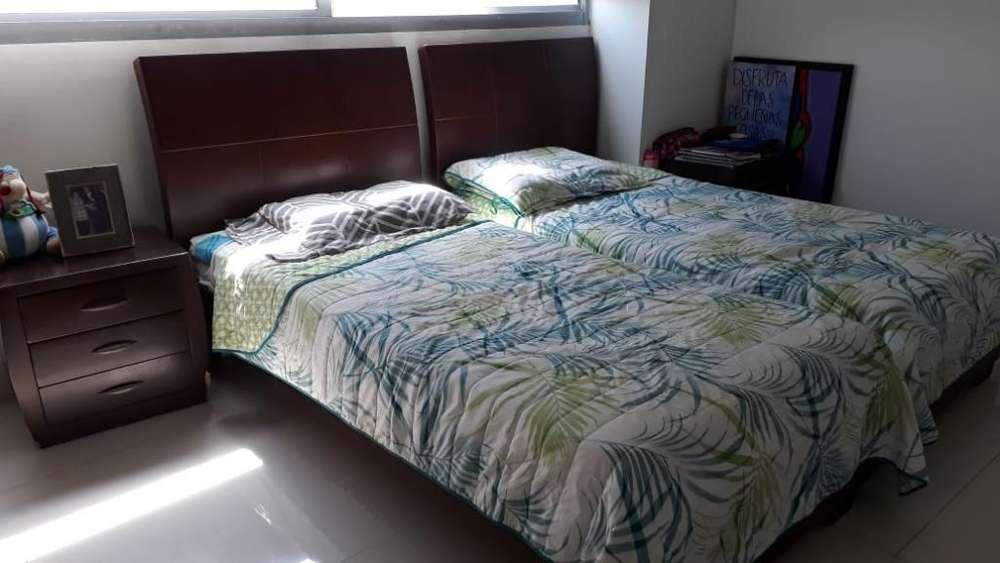 Dos <strong>cama</strong>s Sencillas con Colchón Incluido
