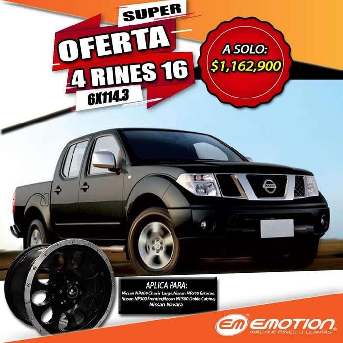 4 Rines 16 6X114.3