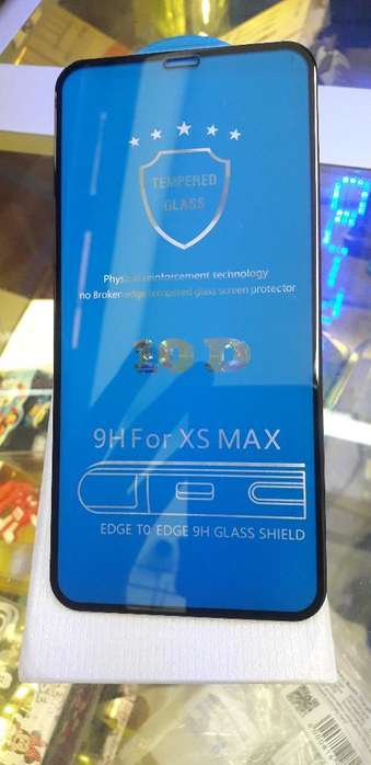 Vidrio 10d iPhone Xs Max