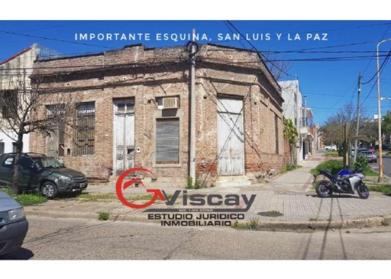 VENDO IMPORTANTE ESQUINA COMERCIAL. San Luis y La Paz.
