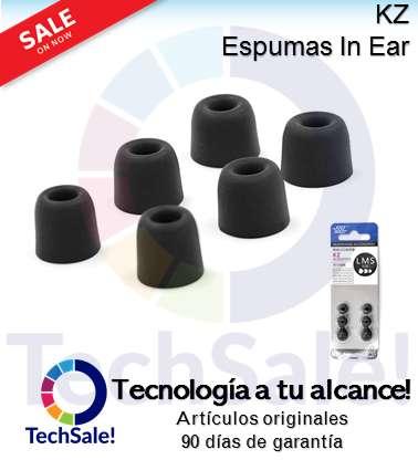 Espuma Foam Auriculares In Ear Kz Audifonos