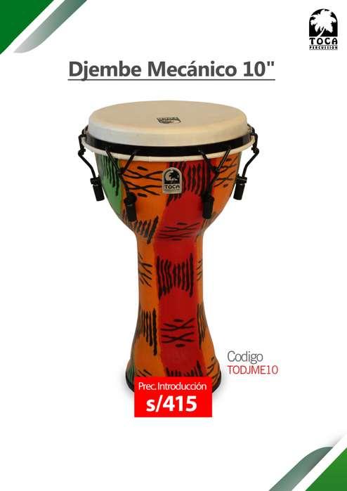 Djembe Marca Toca Percusión Mecánico 10