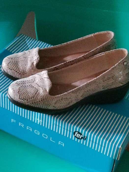 Zapatos Fragola de Cuero N35