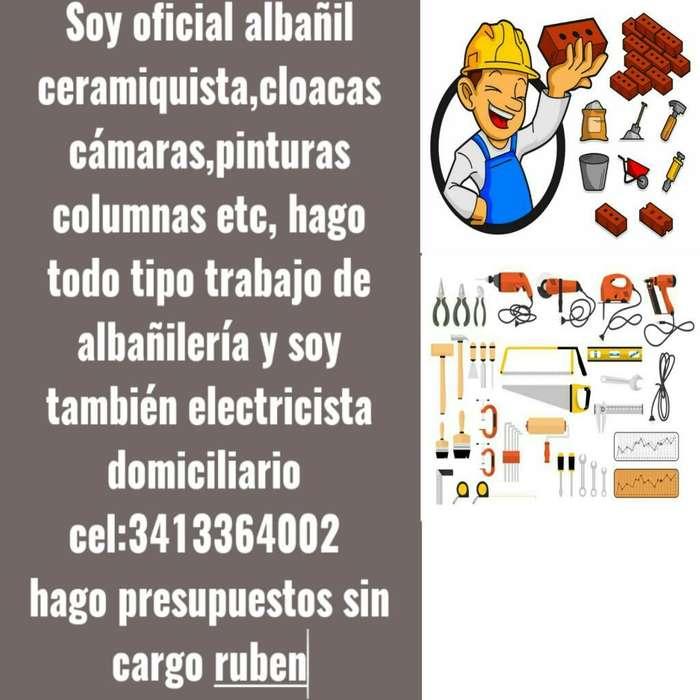 Oficial Albañil Electricista Domiciliari