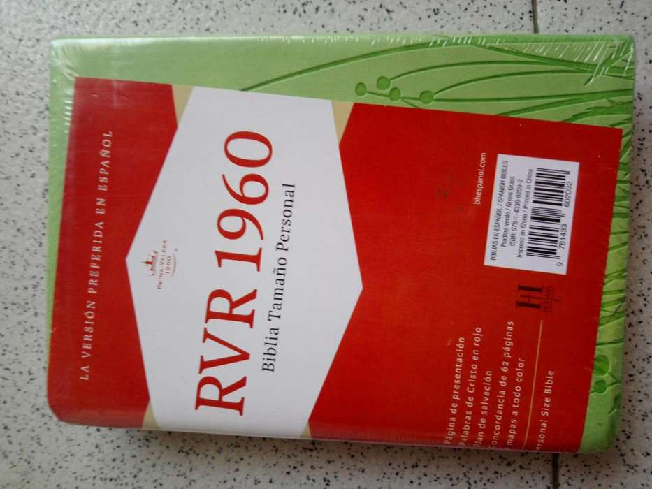 Biblia Reina Valera 1960 verde