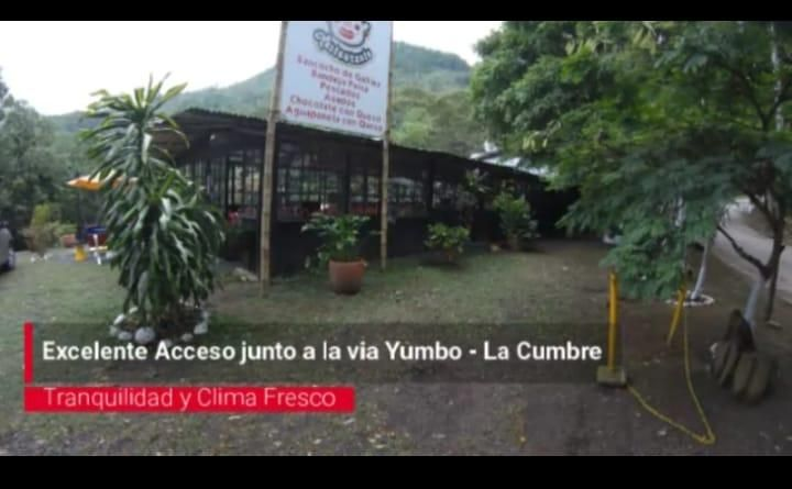 Vendo estadero en vereda Santa Ines, La Cumbre, Valle del Cauca