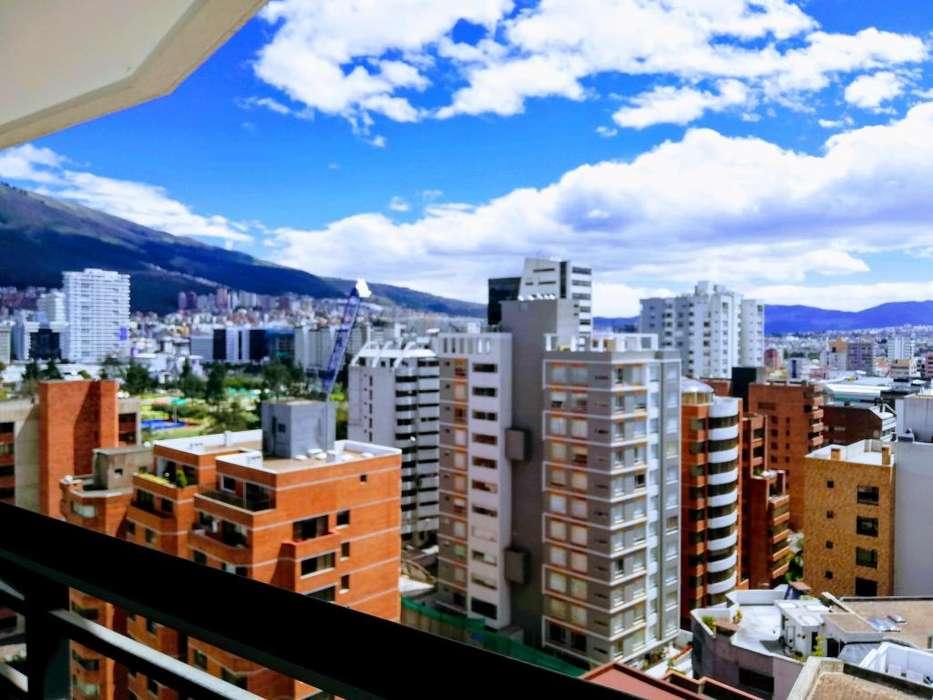 Departamento de 2 dormitorios amoblado en renta, ubicado en la Av. República del Salvador y Suecia