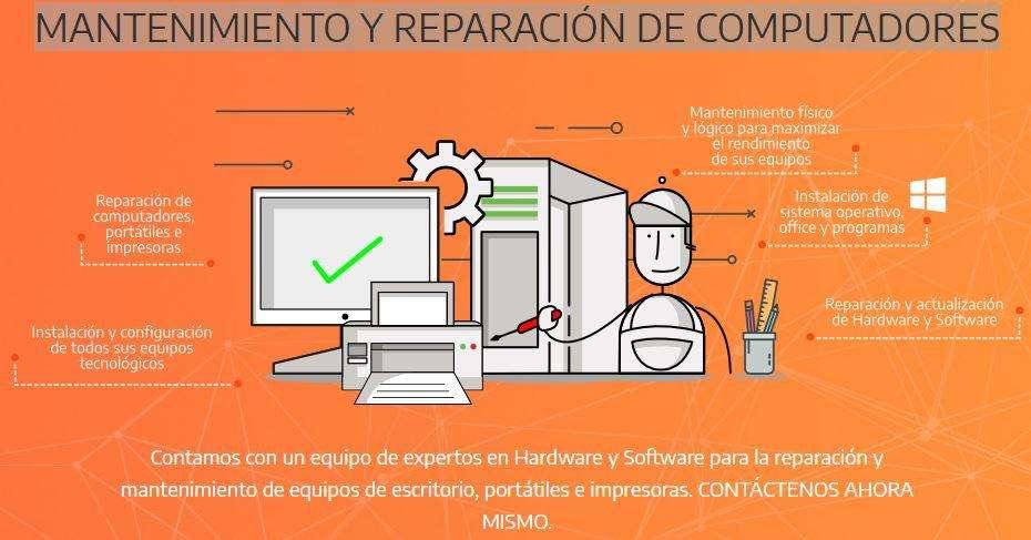 MANTENIMIENTO Y REPARACIÓN DE COMPUTADORES.