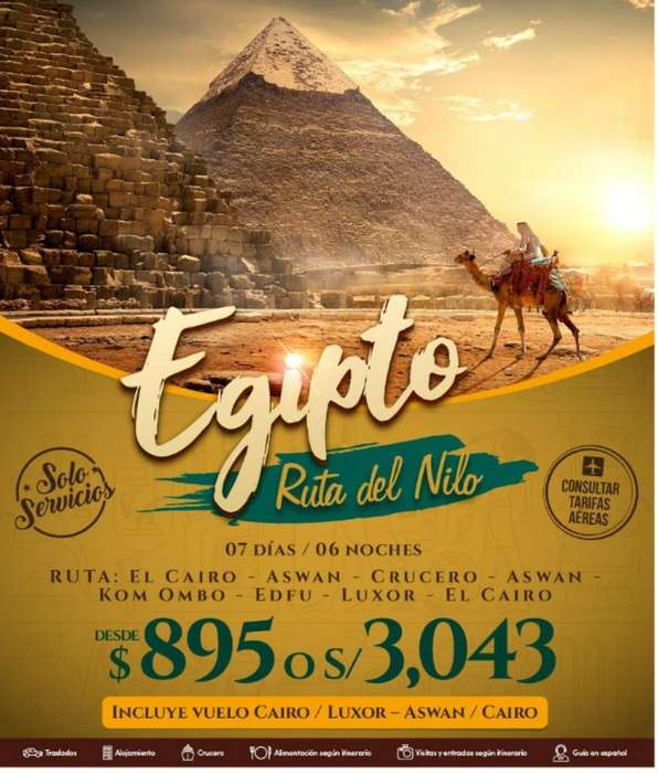 Tours para Egipto & Europa
