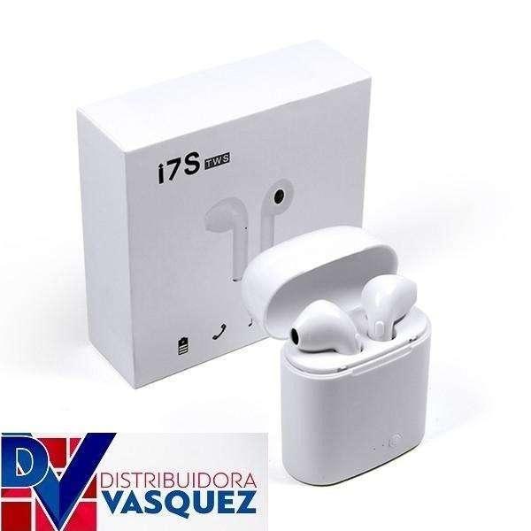 Audifono I7s Tws Manos Libres Con Base De Carga