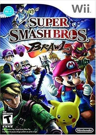 juegos wii digital Super Smash Bros Brawl