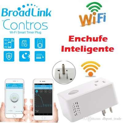 Tomacorriente Enchufe Inteligente (wifi) Broadlink US27,99