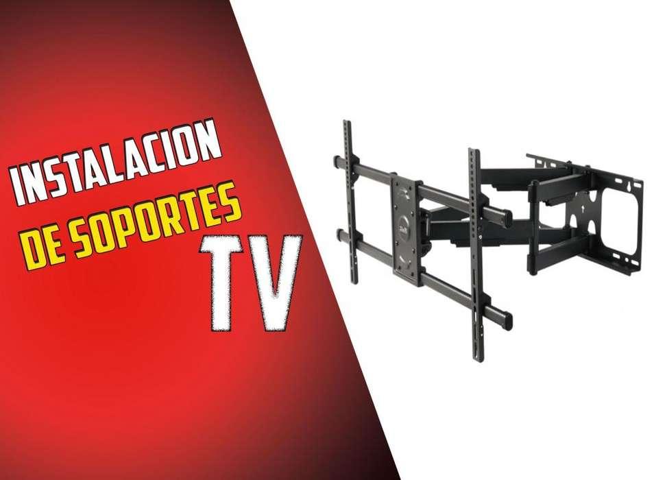 Instalación de Soportes para TV - KONSTRUSER