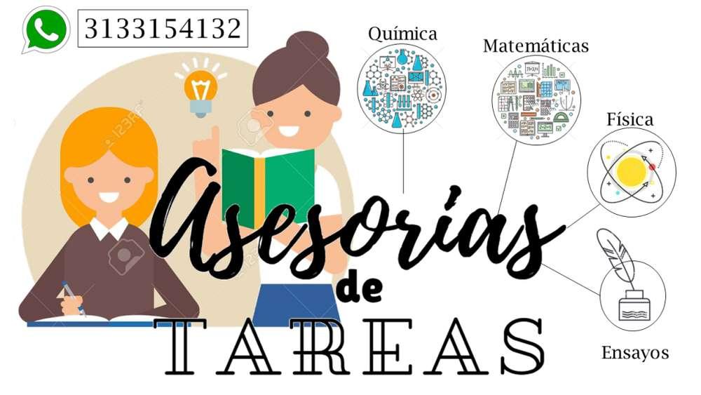 ASESORIA DE TAREAS (BACHILLERATO-UNIVERSITARIOS)