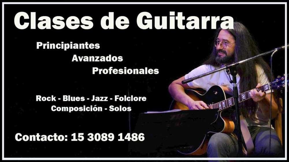 Clases de Música y Guitarra en Florida, Munro, Villa Martelli, Saavedra.
