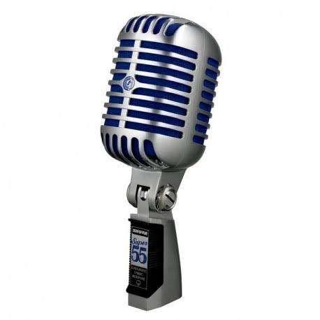 Microfono Shure Super 55 Parante Hercules