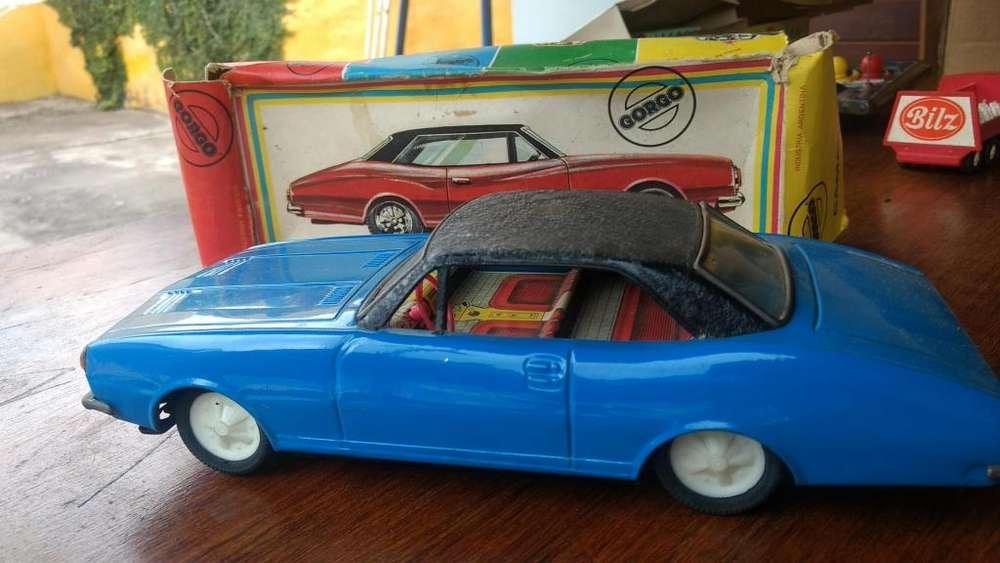 Auto Gorgo años 70, Camaro en su caja original