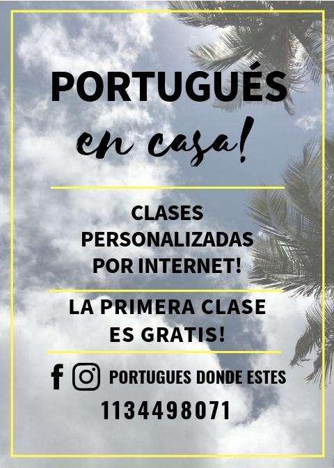 APRENDE PORTUGUES EN TODO EL PAIS!
