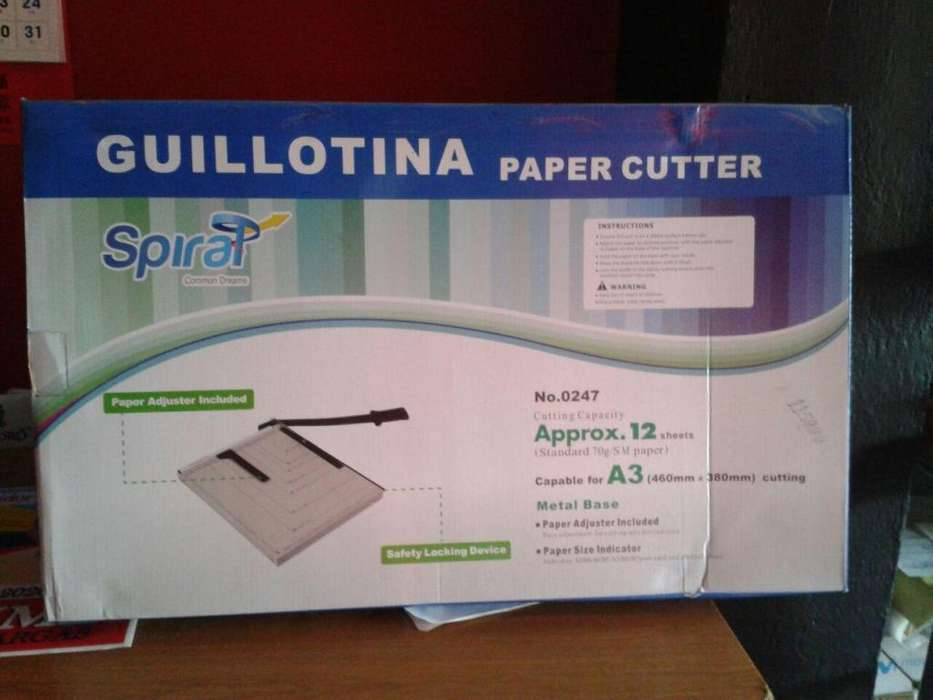 GUILLOTINA SPIRAL