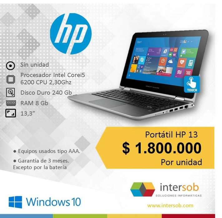 Portátil Hp Intel Corei5