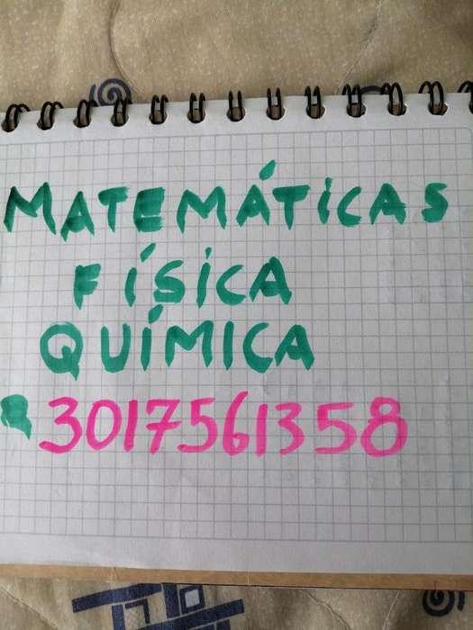 Clases de Matemáticas Física Química