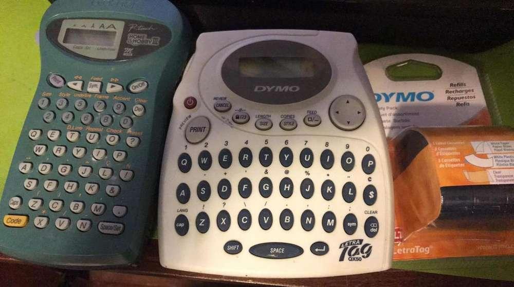 maquina para escribir Letras Tag
