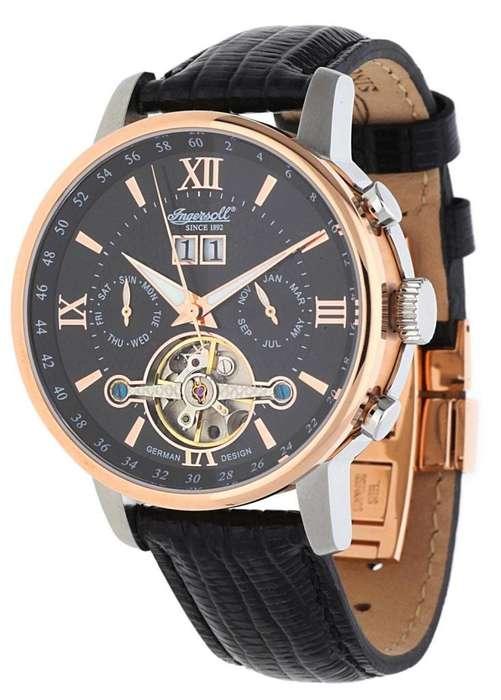 Reloj Ingersoll IN6900RBK Nuevo S/600