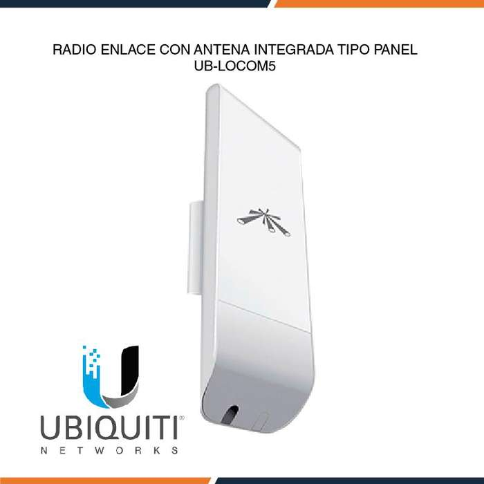 Radioenlace Exterior Con Antena Panel Integrada Ubiquiti