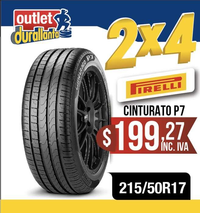 LLANTAS 215/50R17 PIRELLI CINTURATO P7 Cruze CS35 LUXURY AC SUV D60 COMFORT CS35 COMFORT AC