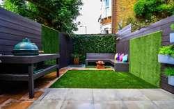 Césped Artificial Sintético Instalación para jardín con apariencia natural