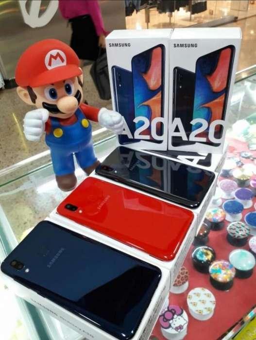 Samsung A20 Nuevos, Sellados, Garantía 1 año