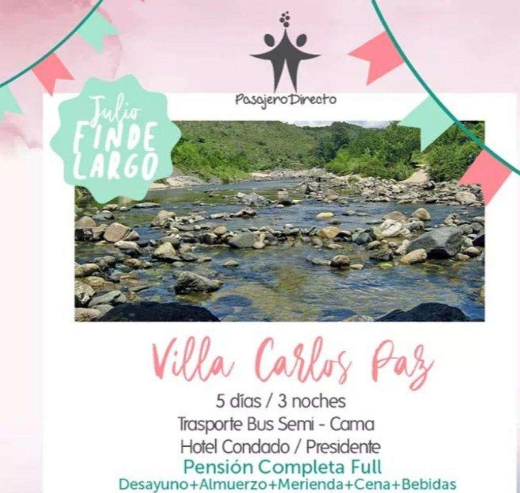 Viaje a Villa Carlos Paz