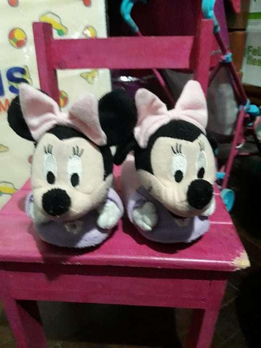 Pantuflas Minnie Originales Talle 21