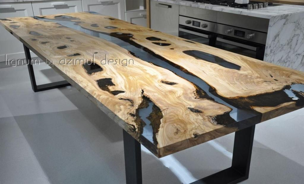 comedor comedores en resina mesas rustico decoracion luxury ...