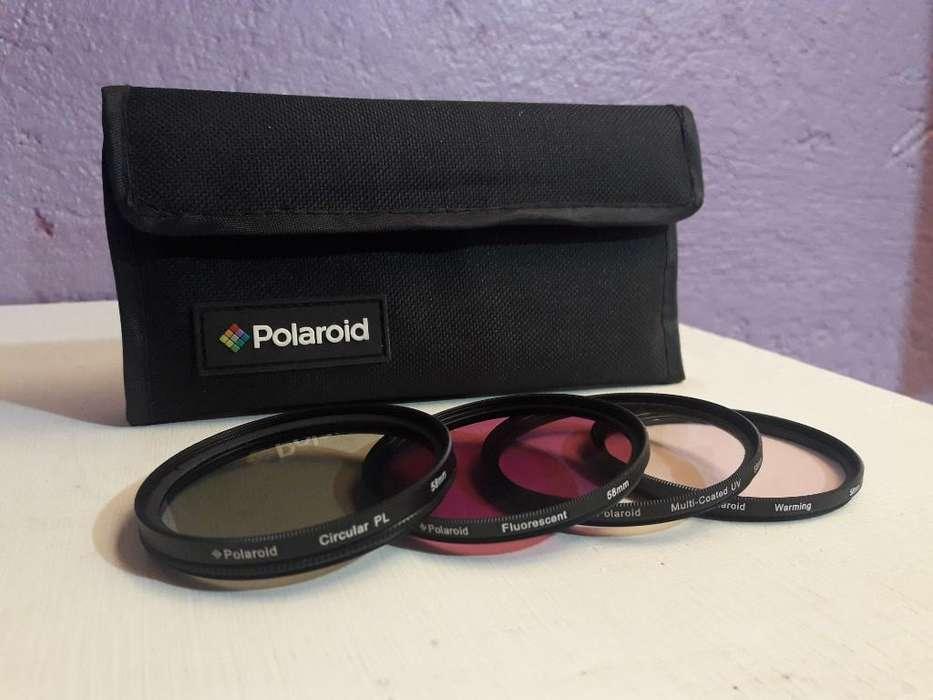 Polaroid Optics 58mm 4 Piesas