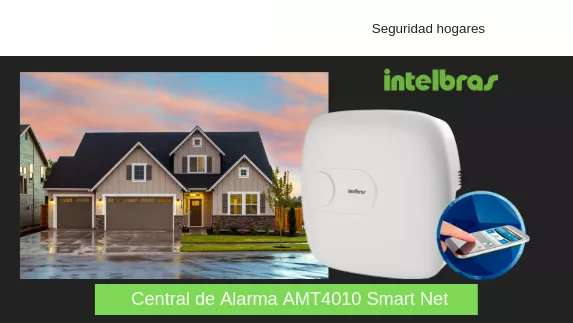 Kit de Alarma Intelbras Amt 4010 Smart Net Ip