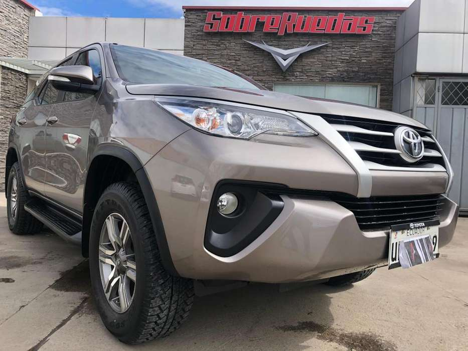 Toyota Fortuner 2017 - 55600 km