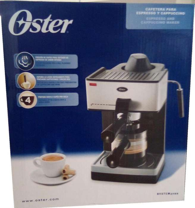 Cafetera Oster BVSTEAM 3299