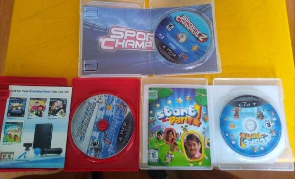 Ps3 Juegos Playstation Mové Más Cámara