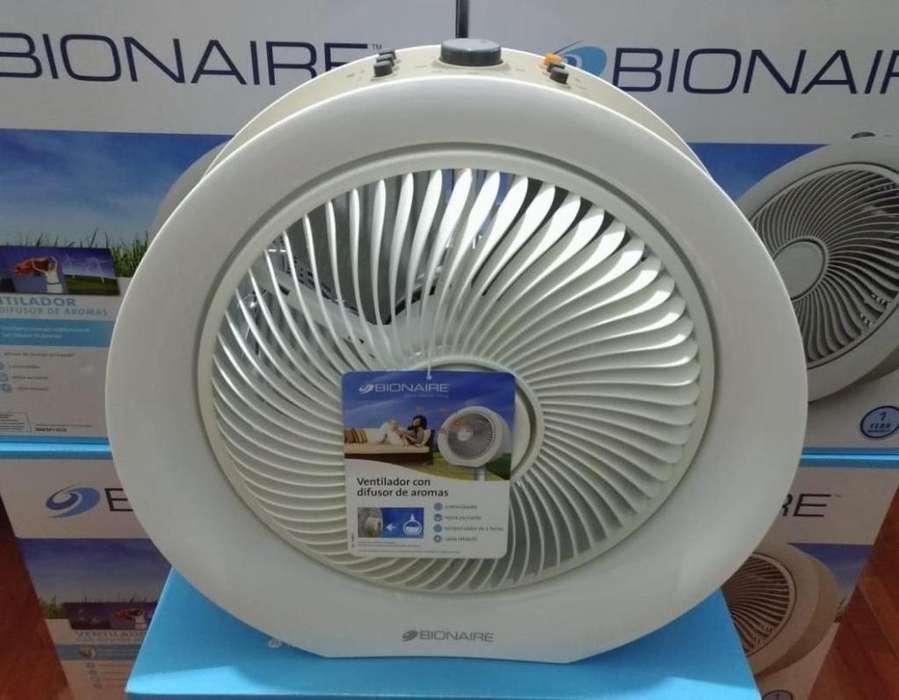 Ventilador Bionaire Con Difusor De Aromas Bafm1503
