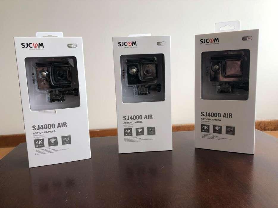 Sjcam Sj4000 4K Tipo Gopro <strong>accesorios</strong>