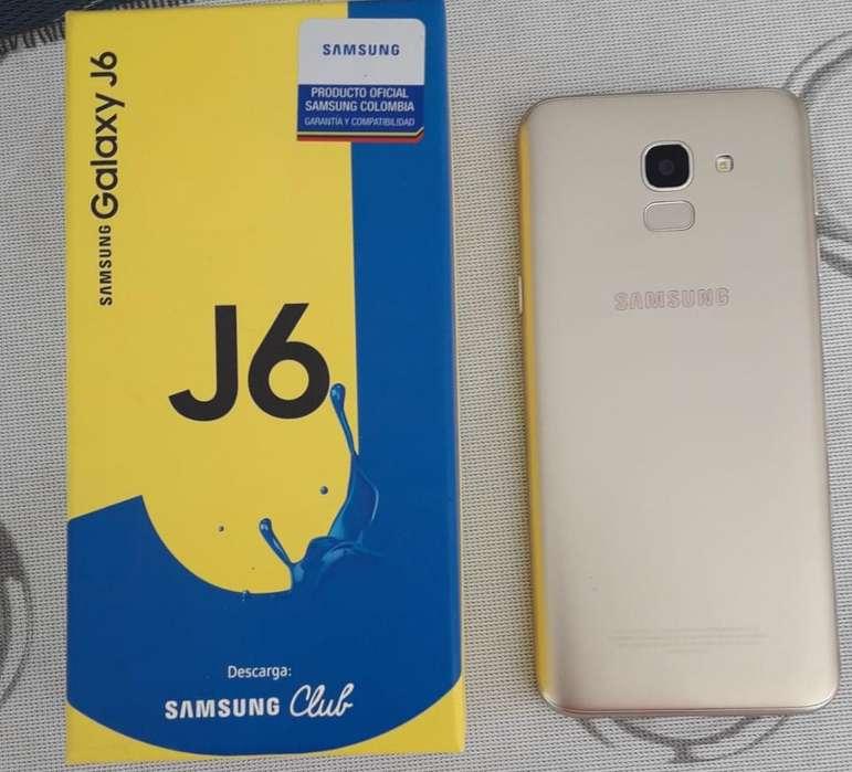 Vendo Samsung J6 en Perfecto Estado