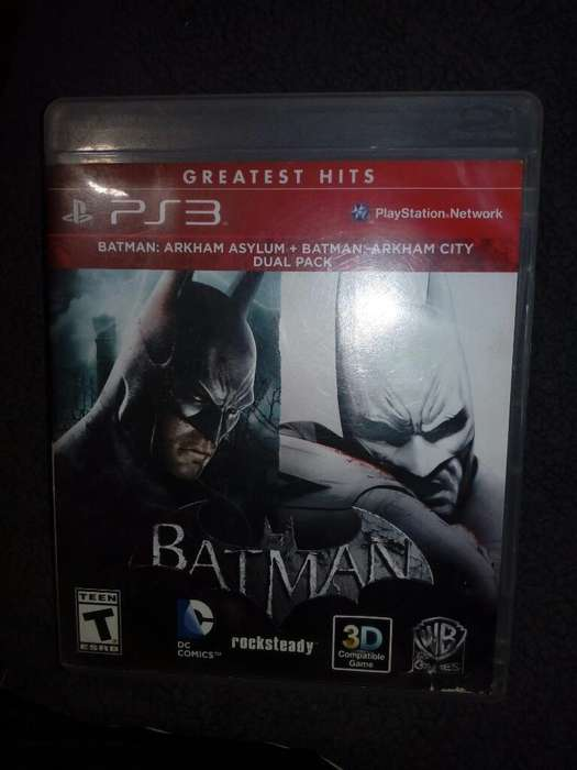 Batman Ps3 Dual Pack