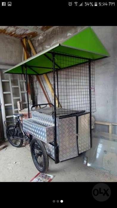 Triciclo con Carpa