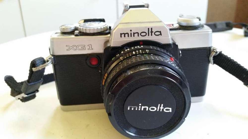 Cámara Minolta Xg1 para Rollos 35mm