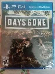 Days Gone(ps4) Nuevo Y Sellado