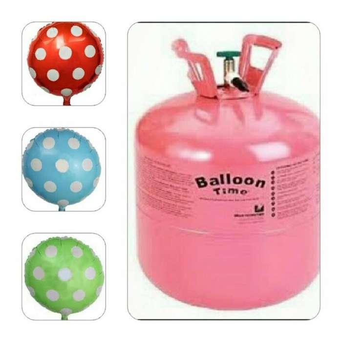 garrafa para inflar globo