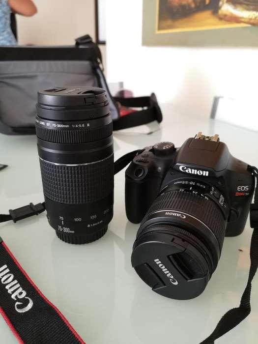 Cámara Canon Rebel Eos T6 Kit