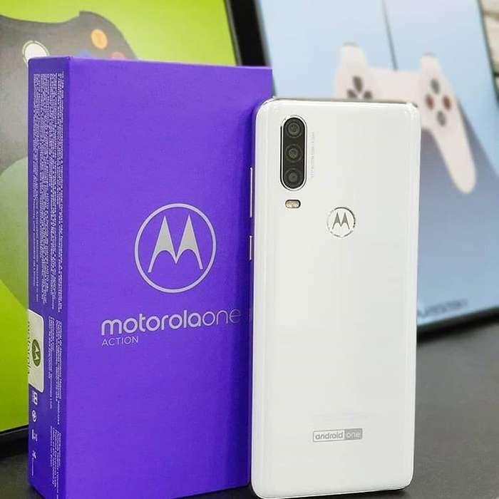 Moto One Action 128GB Nuevos Sellados